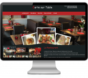 Restaurant Carte sur Table